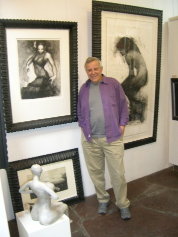 Robert Shropshire has gone from nuclear scientist to labor of love as owner of a Santa Fe art gallery.
