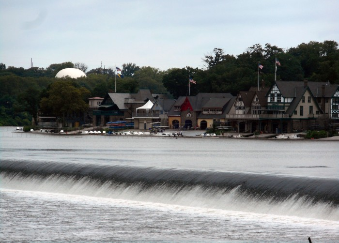 Boathouse Row in Philadelphia is the center is the focal point for rowers on the Schuylkill River. Craigslegz.com