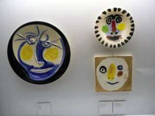Fifty ceramic pieces by Pablo Picasso are on display at the train station in Soller. Craigslegz.com