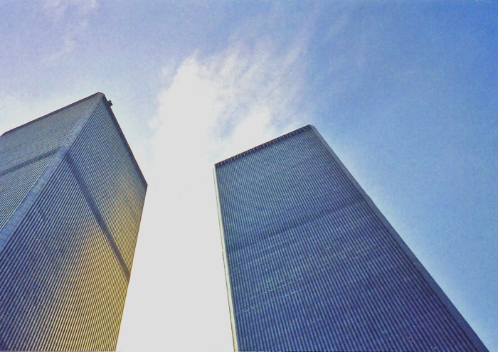 The dizzying height of the Twin Towers made them a challenge to photograph. Craig Davis/Craigslegz.com