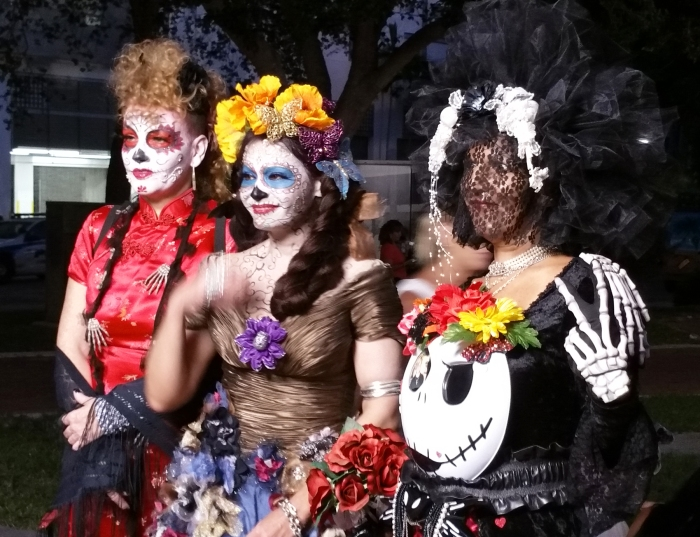 Day of the Dead celebrants get into the spirit of the Mexican holiday in Fort Lauderdale, Fla. Craig Davis/Craigslegz.com