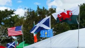 The Southeast Florida Scottish Festival and Highland Games was a colorful event. (Craig Davis/Craigslegz.com)