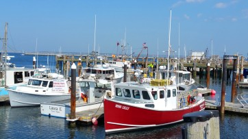 Provincetown Harbor was the first stop of the Pilgrims. It remains a busy basin for commercial and private boats. (Craig Davis/Craigslegz.com)